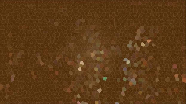 Brown mosaic background art