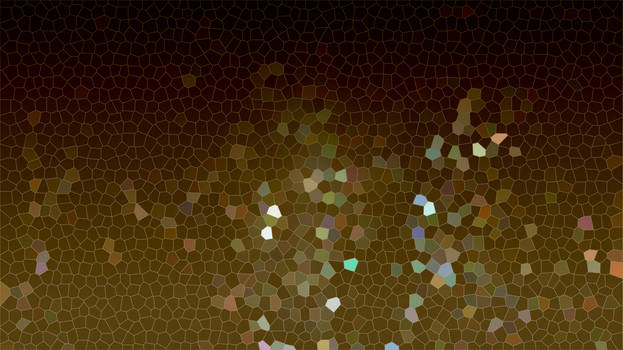Brown mix mosaic art glitter