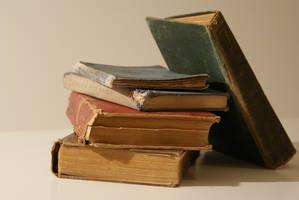 Vintage Books Free Stock Photo