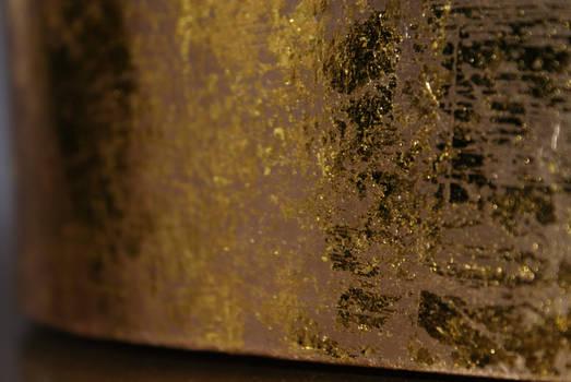 Gold Crinkle Wrinkle Texture