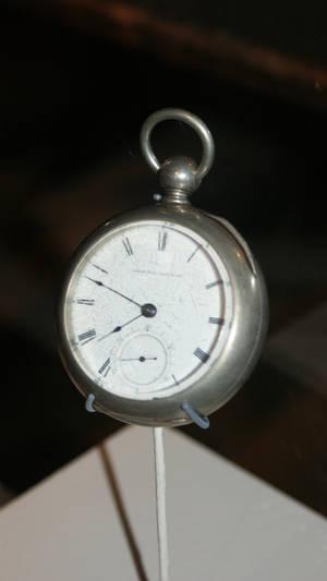 Vintage Men's Clock Old Time