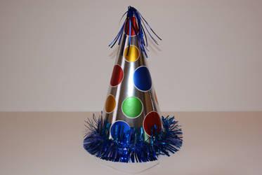 kids party hat foil spots by madetobeunique