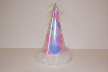 girls pink party hat