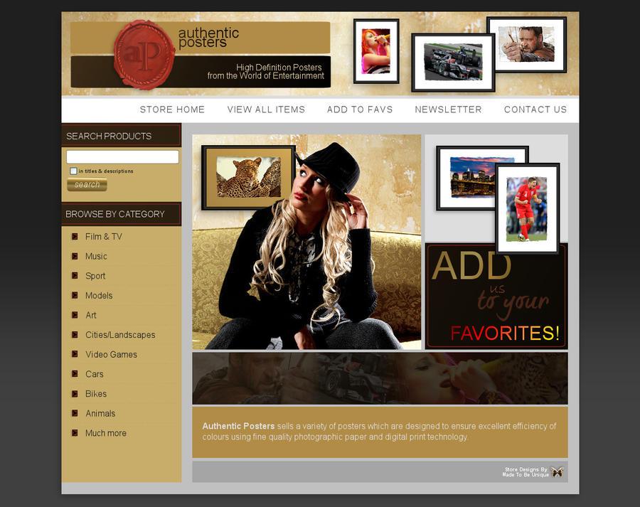 New Custom Ebay Store Design By Madetobeunique On DeviantArt - Custom ebay store design template