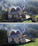 Smoky House Before and After 1