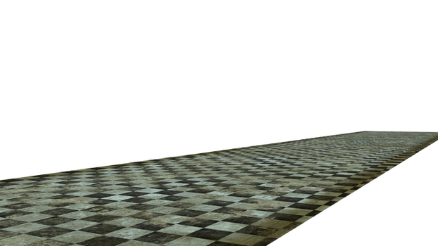 Stock Grunge Floor 4 cut-out