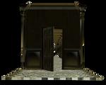 room house door open cut-out