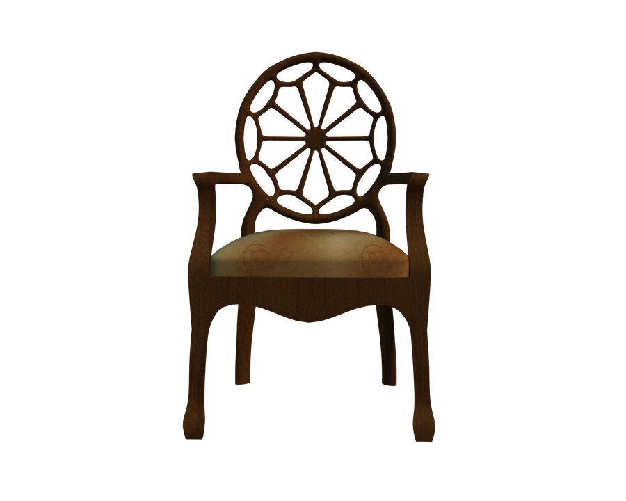 Cut Out 3d Chair Front Stock By Madetobeunique ...
