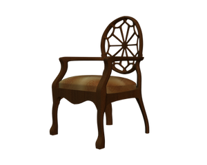 cut-out chair stock side png