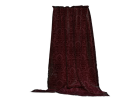burgundy drapes curtains stock by madetobeunique