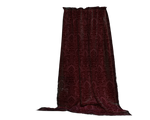 burgundy drapes curtains stock