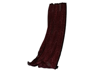 red long curtains drapes png