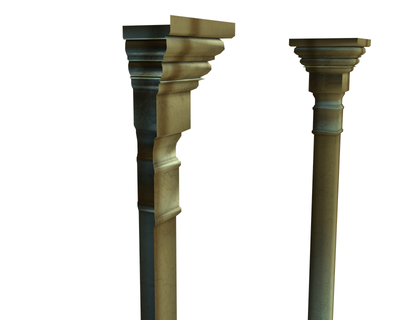 3d wall columns side png by madetobeunique on DeviantArt
