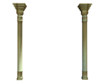 tall wall columns stock png