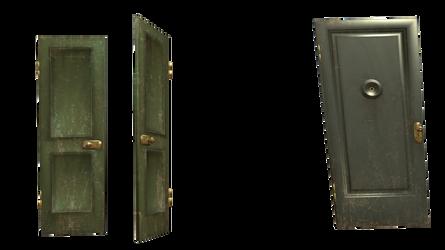 green door stock opens png