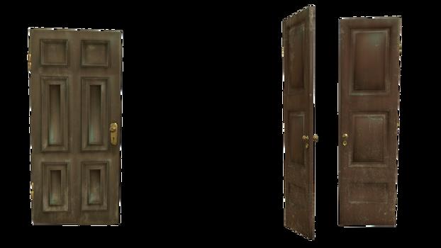 doors cut-out transparent open