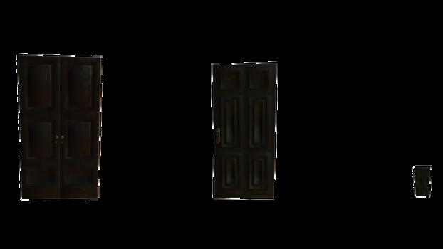 doors stock big and tiny