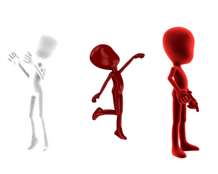 some more 3d model poses