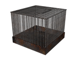 3d cage transparent png