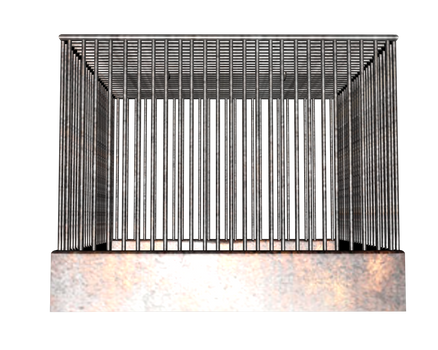 side birdcage or animal cage