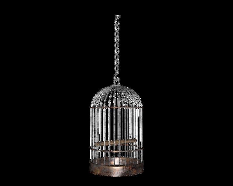 hanging side round birdcage by madetobeunique on deviantart. Black Bedroom Furniture Sets. Home Design Ideas