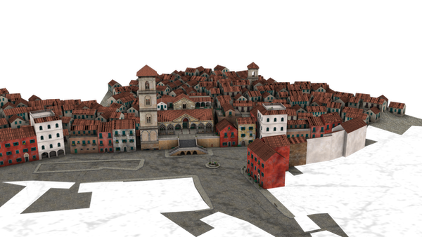 add a town to your background