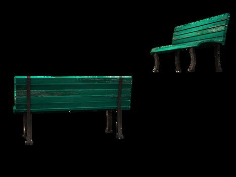 free stock 3d bench model pics