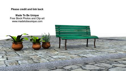 Bench Seat pre-made Background