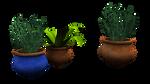 free 3d plants, pots n pottery