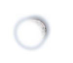3d moon for background png