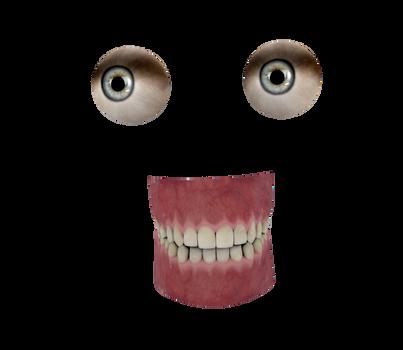 Body Parts Stock Images #1 blue eyes n teeth
