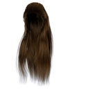 Stock Hair Images #5 long brown front wavy