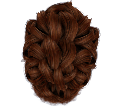 Free Stock Hair Images #2 hair braid red top