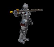Kingdom Knight Poses #1 battle fighting armor