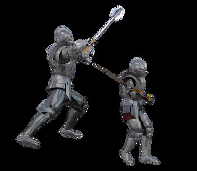 Kingdom Knight Poses #5 battle armor