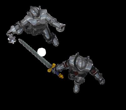 Kingdom Knight Poses #6 battle sword