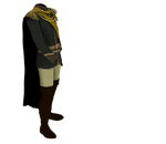 Kingdom Clothing #25 kings green costume boots by madetobeunique