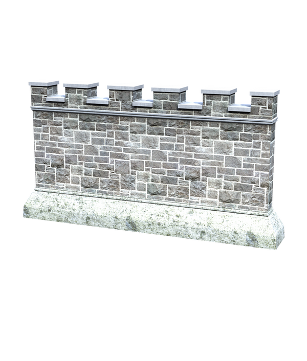 Castle Stock Parts #19 build wall side section by ...