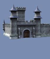 Castle Stock Parts #39 more kingdom corner view by madetobeunique