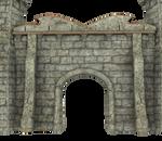 Castle Stock Parts #10 transparent front gate