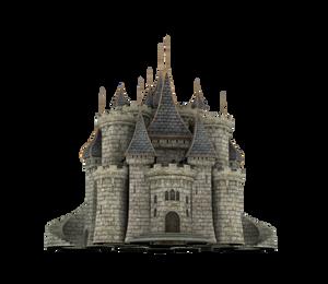 Fantasy Castle Stock Parts #31 Kingdom front gate