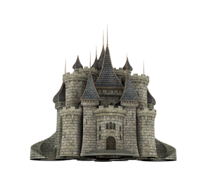 Fantasy Castle Stock Parts #31 Kingdom front gate