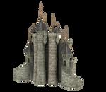 3d Fantasy Castle Stock Parts #33 side kingdom