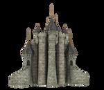 3d Fantasy Castle Stock Parts #34 beautiful back