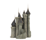 3d Fantasy Castle Stock Parts #35 side and back