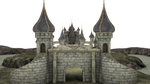 3d Fantasy Castle Stock Parts #4 front kingdom