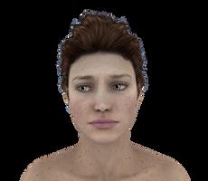 Facial Expressions #29 unsure hopeful sad wonder by madetobeunique