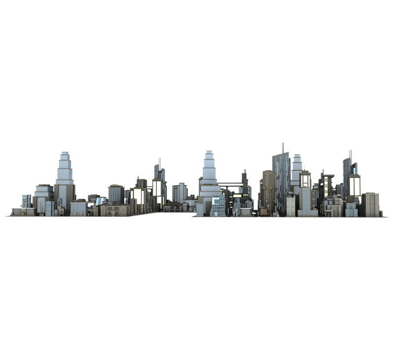 Large City Buildings 3 Png Cut Out Free Stock By