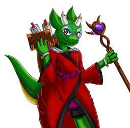 Kip the Kobold Wizard