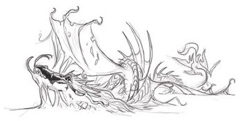 Radioactive Sea Dragon by Aribis by MomoShino